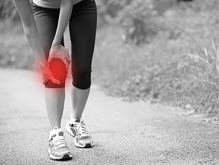infortuni del ginocchio nel triathlon corsa