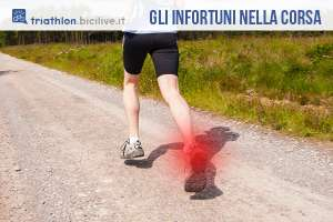 Gli infortuni più frequenti nella corsa