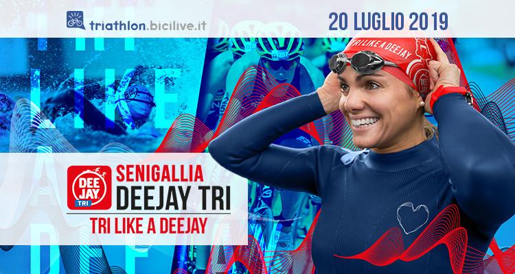 Il triathlon della Senigallia Deejay Tri: lungomare in festa il 20 luglio 2019