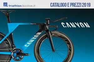 Canyon Speedmax per triathlon catalogo e listino prezzi 2019 bici