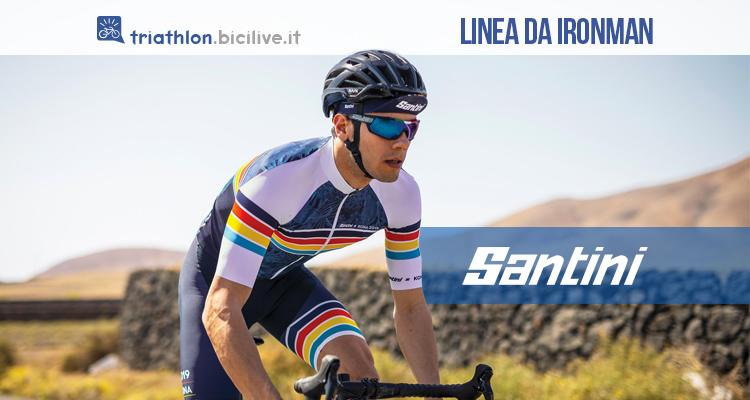 triathlon Santini linea ironman 2019