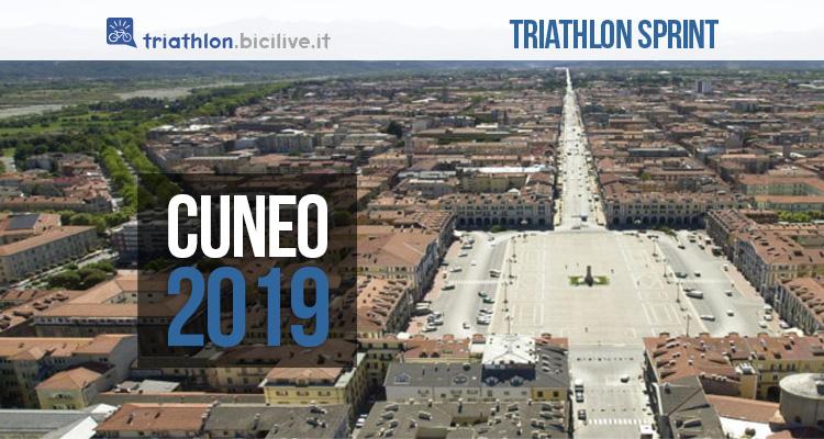 Triathlon sprint città di Cuneo 2019