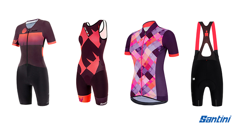 triathlon Santini collezione donna linea ironman