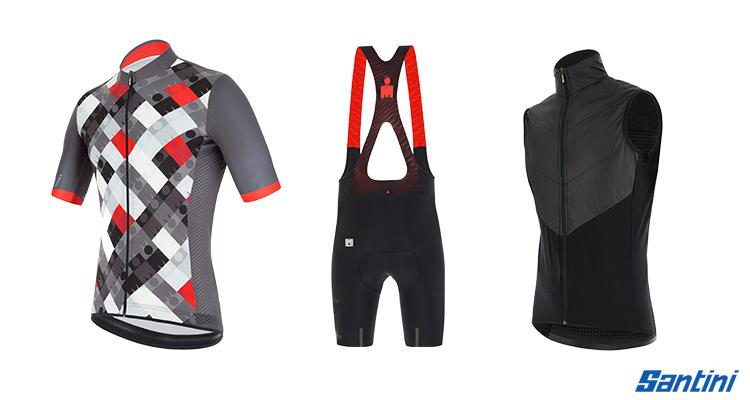 triathlon Santini collezione ironman linea vis