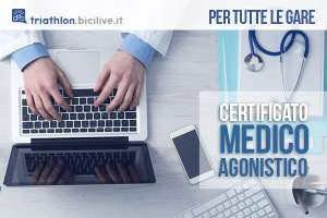 certificato medico agonistico triathlon 2019