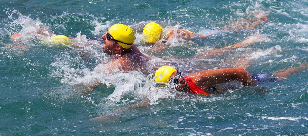 prima frazione nuoto triathlon città di cuneo 2019
