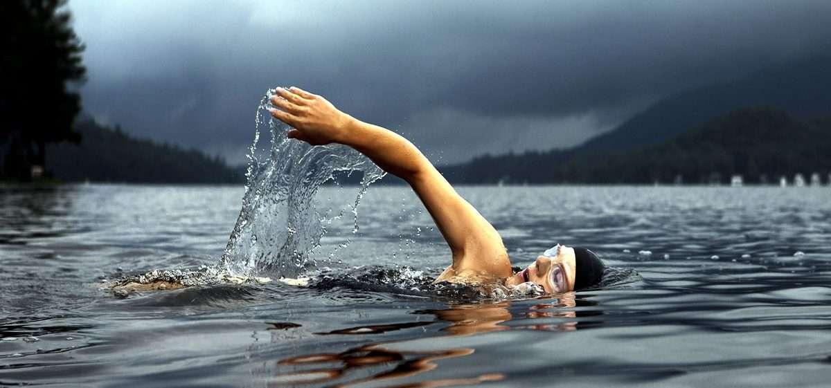 Nuoto in acque libere @ pixnio