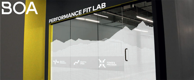 L'ingresso del Boa Performance Fit Lab a Denver