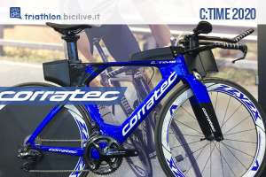 Corratec C:Time 2020: nuova gamma di bici da triathlon