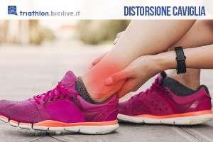 Una distorsione alla caviglia