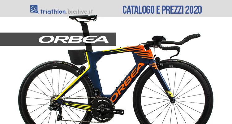 La bici Orbea Ordu da triathlon