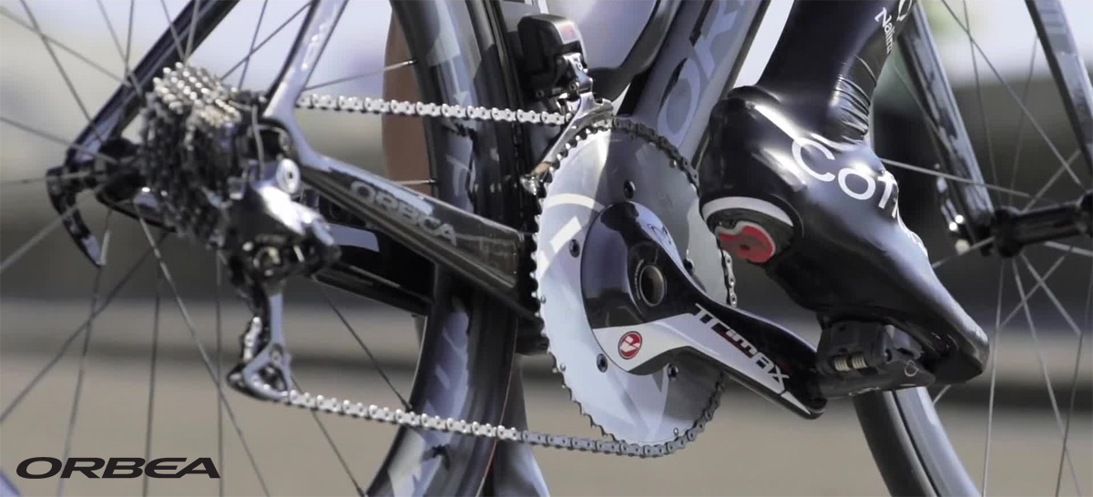 Il deragliatore della bici Orbea Ordu 2020