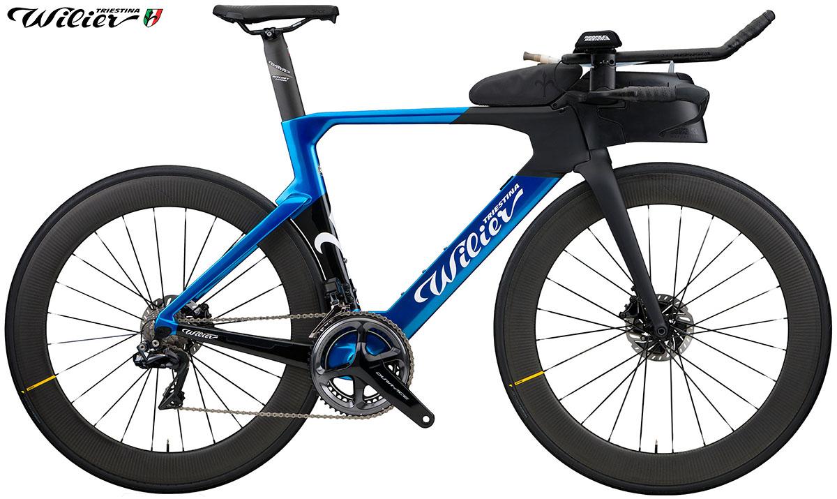 La bici da triathlon Wilier Turbine 2020