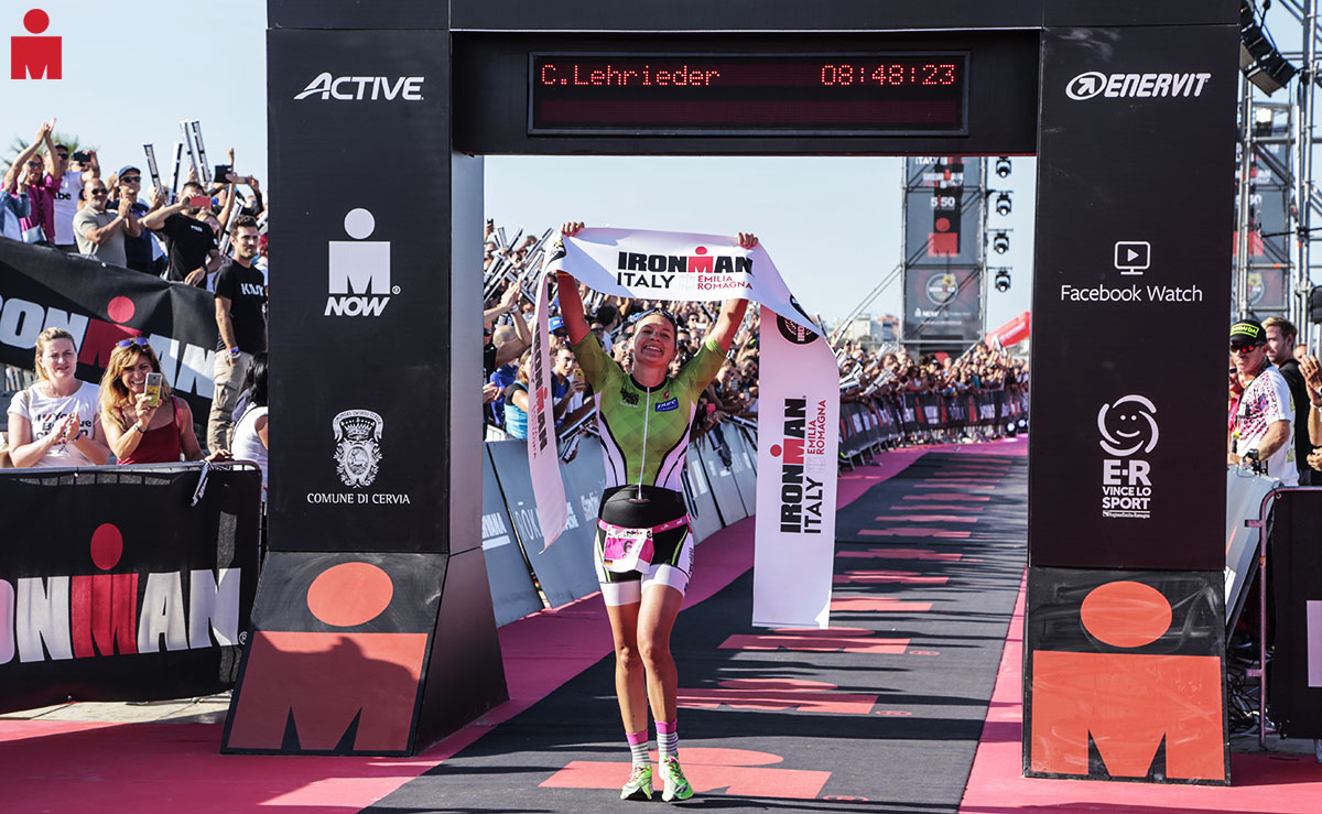 All'Ironman Italy Emilia Romagna la vittoria femminile va a Carolin Leherieder