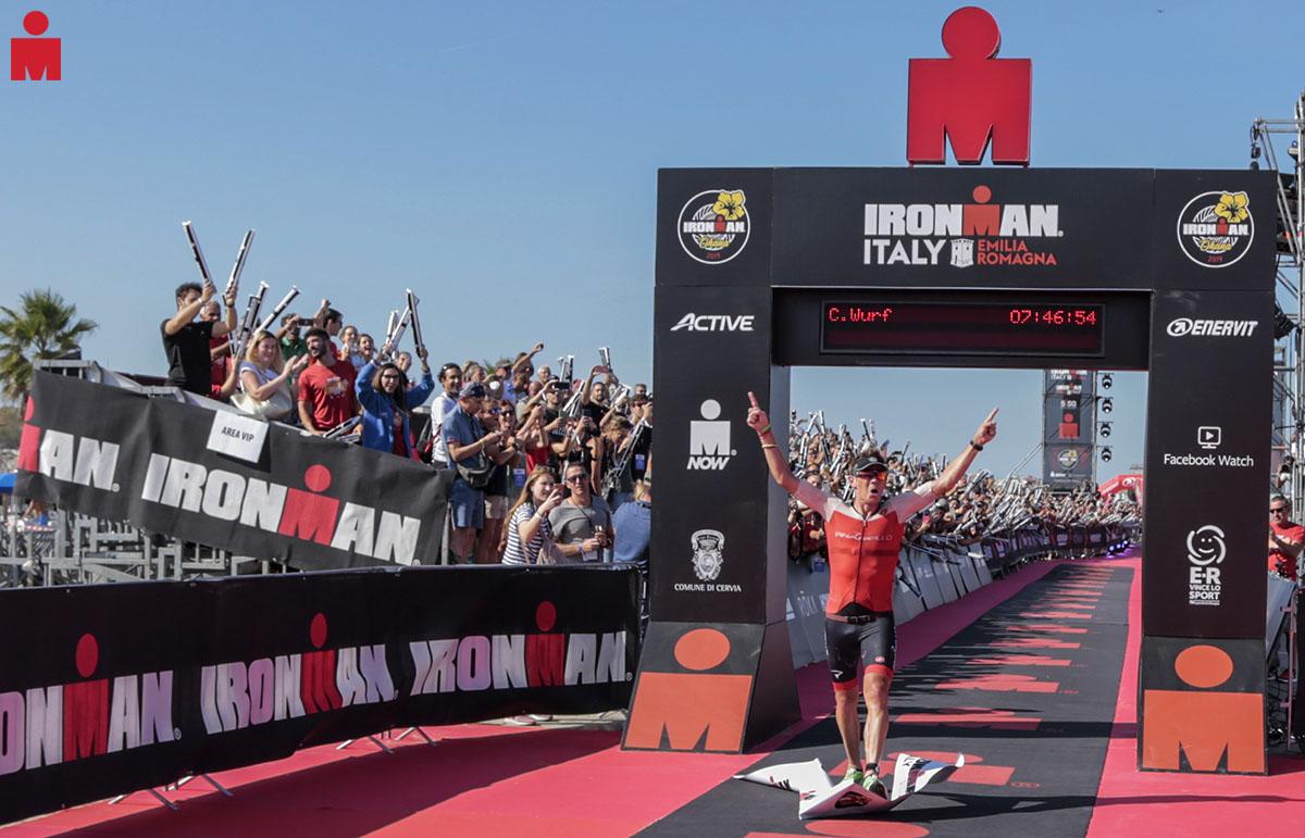 All'Ironman Italy Emilia Romagna la vittoria maschile va a Cameron Wurf