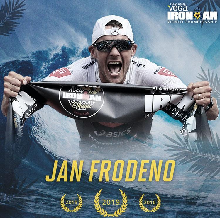 Jan Frodeno vincitore del suo terzo Ironman