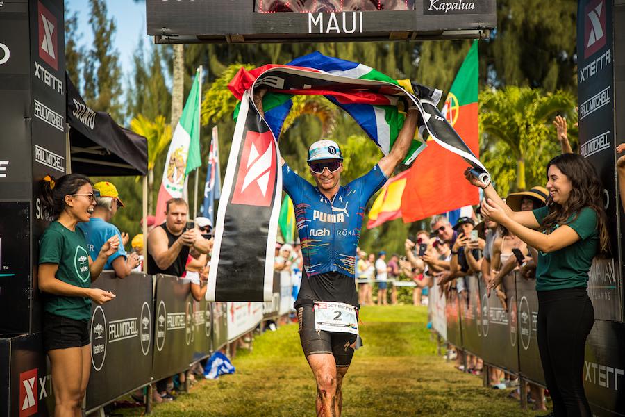 Bradley Weiss vince gli XTerra World Championship 2019 a Maui