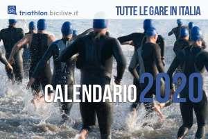 Il Calendario delle gare di triathlon 2020 in Italia