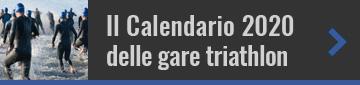 Il calendario 2020 delle gare triathlon in Italia