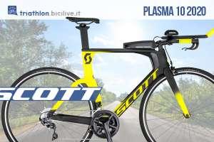 La nuova bicicletta Scott Plasma 10 2020: per triathlon e cronometro