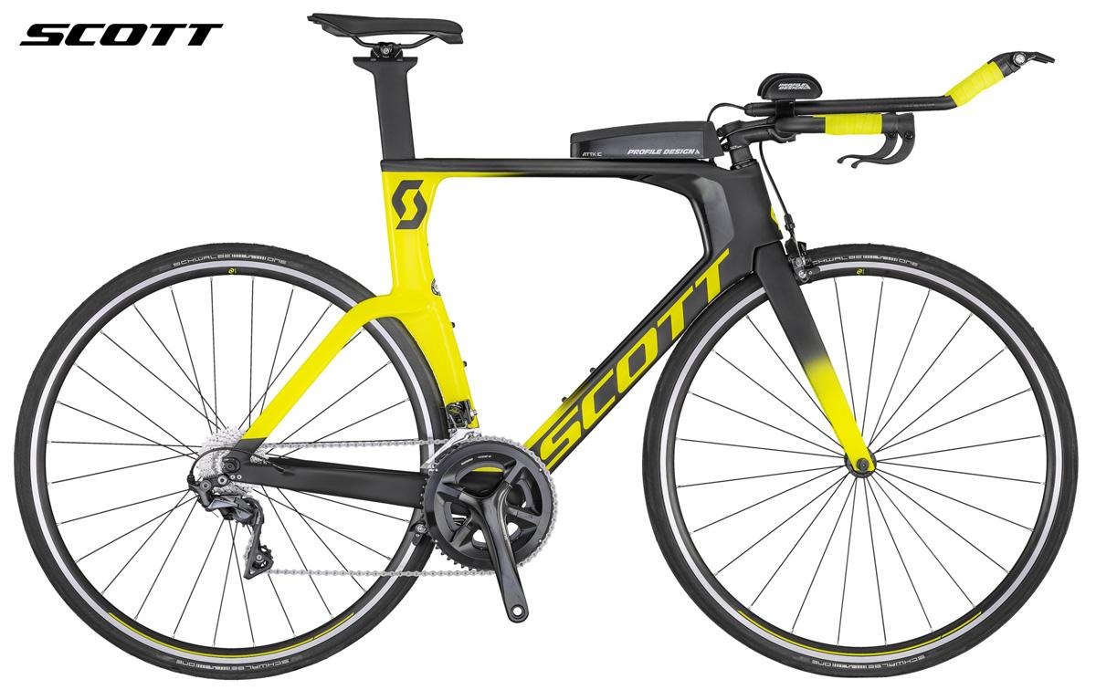 Una bici da triathlon e time trail Scott Plasma 10 2020