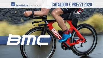 BMC Timemachine 01 e 02: le biciclette 2020 per il triathlon
