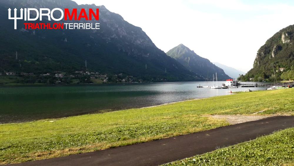 Il lago di Idro in provincia di Brescia