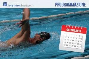 Triathlon per principianti: la programmazione per allenare la frazione di nuoto