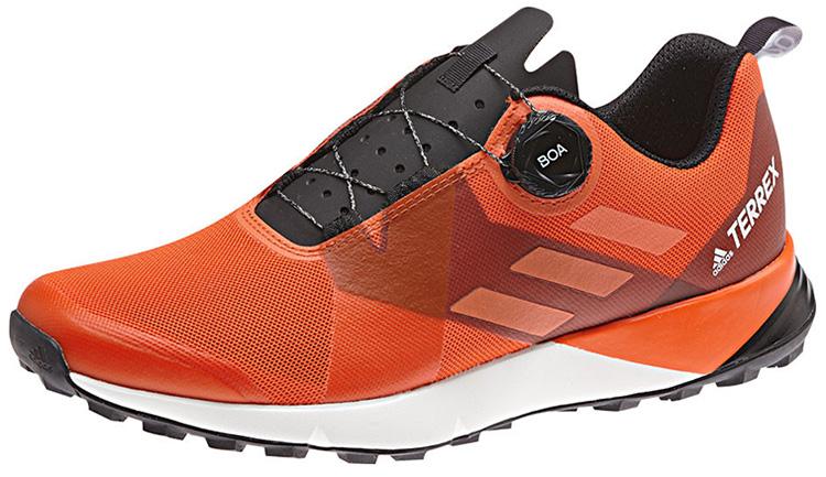 Le scarpe Adidas Terrex Trail scarpe da cross triathlon con allaccio Boa