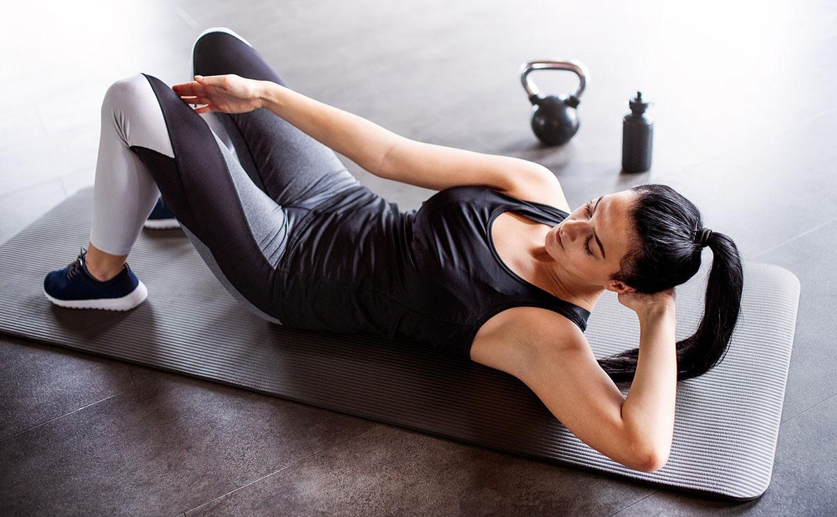 esercizi a terra per rimanere in forma