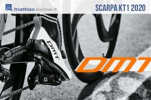 DMT KT1 2020: scarpa ciclismo Engineered Knit per triathlon