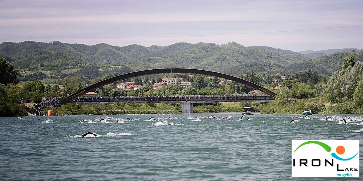 Ironlake Mugello 2020 la location della frazione di nuoto