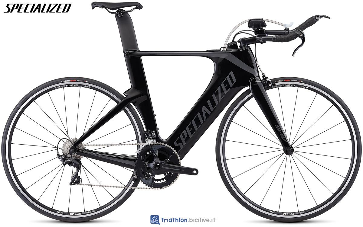 Una bicicletta per gare triathlon Specialized Shiv Elite 2020