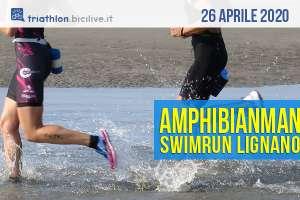 Amphibianman 2020: gare Swimrun a Lignano 26 aprile