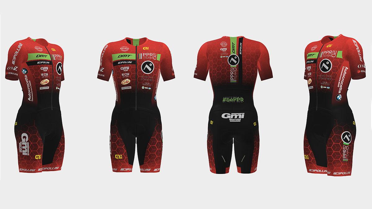 I Body da ciclismo della squadra PPR Team 2020