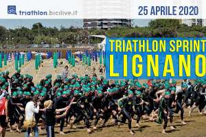 Triathlon Sprint Città di Lignano: 25 aprile 2020