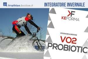 KeForma VO2 Probiotic: integratore alimentare triatleti runner e ciclisti