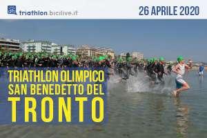 Domenica 26 aprile 2020 è la giornata dell'VIII Triathlon Olimpico Silver Città di San Benedetto del Tronto