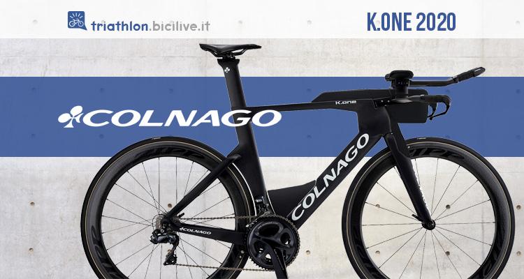 Colnago K.one: telaio bici aerodinamico da triathlon e crono