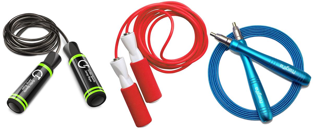Tre corde professionali da saltare