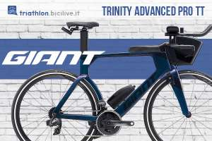 Bicicletta da triathlon Giant Trinity Advanced Pro TT