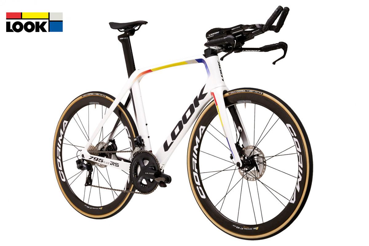 una bici look blade 795 di profilo
