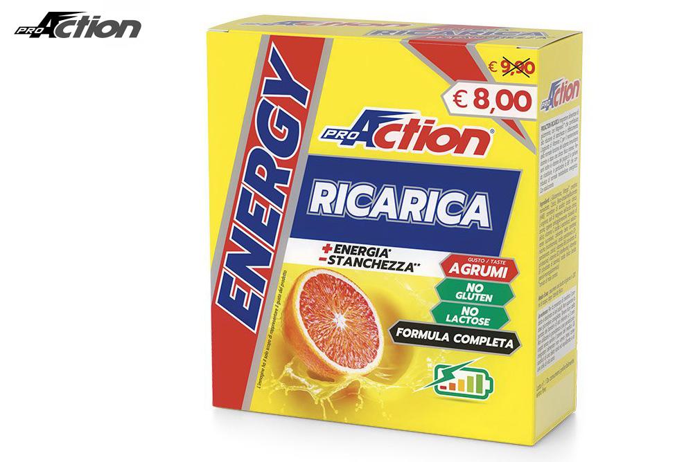 Una confezione di ProAction Ricarica