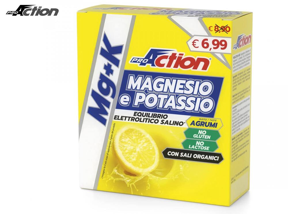Una confezione di ProAction Magnesio&Potassio