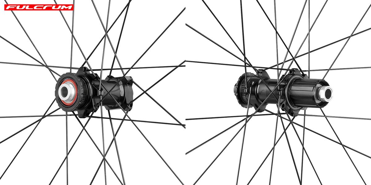 I mozzi delle ruote aerodinamiche ad alto profilo Fulcrum Wind 75 DB