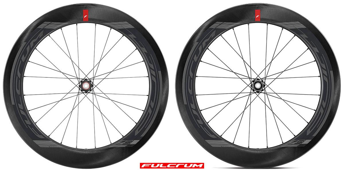 Cerchi bici aerodinamici ad alto profilo Fulcrum Wind 75 DB