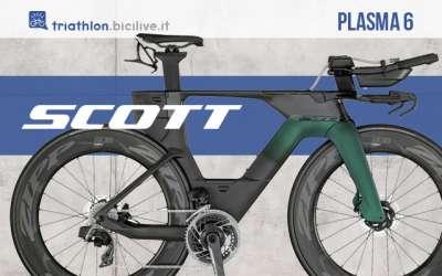 Scott Plasma 6 2021: bici triathlon versione Premium o RC