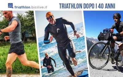 L'allenamento per praticare il triathlon dopo i 40 anni