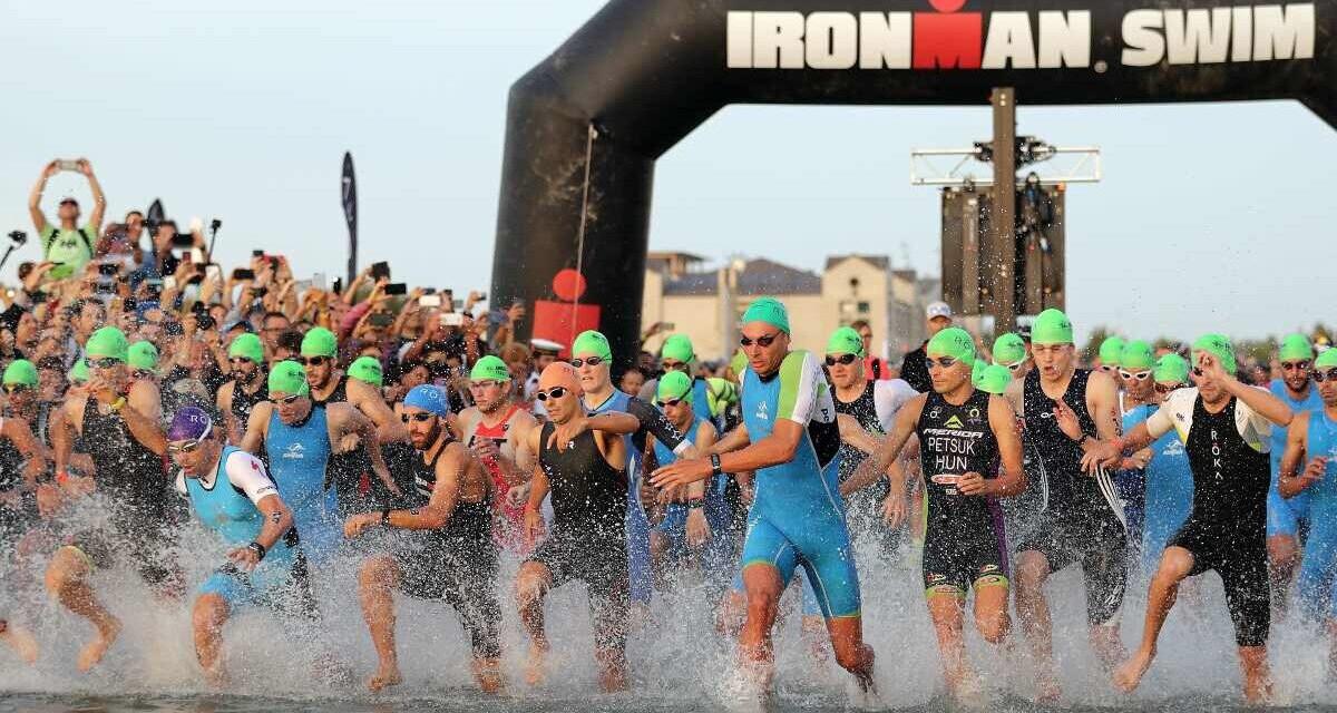 La partenza del' Ironman di Cervia
