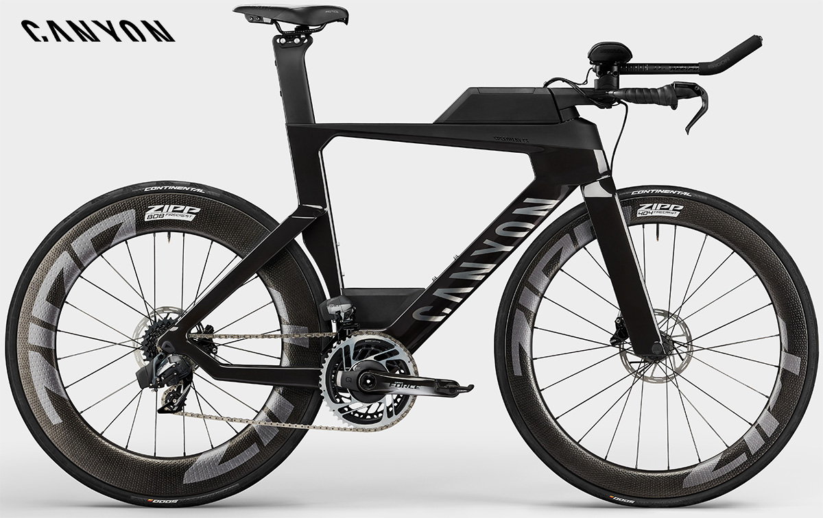 La nuova bici da triathlon Canyon Speedmax CF8 Etap Disc 2021